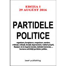 Partidele politice - editia I - 29 august 2016
